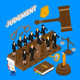 Judgment People Illustration Stock Photo
