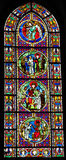The Judgment of Solomon - Stained Glass Royalty Free Stock Photography