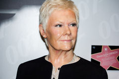 Judi Dench wax figure Royalty Free Stock Image