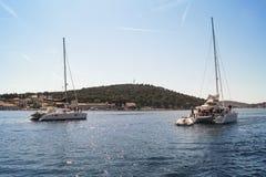 Judicial catamarans Royalty Free Stock Images