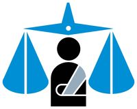Judicial emblem Stock Photos