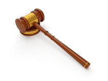 Judicial hammer Royalty Free Stock Images