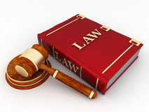 Judicial paraphernalia Stock Photography