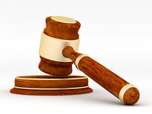 Judicial paraphernalia Stock Images