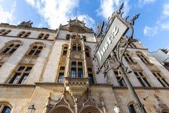 Judiciary building magdeburg germany. The judiciary building magdeburg germany royalty free stock photography
