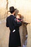 judisk bön Fotografering för Bildbyråer