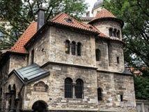 Judisk ceremoniell korridor i Prague nära den Klausen synagogan, Cze fotografering för bildbyråer
