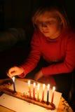 Judisk ferie av Chanukah Royaltyfri Bild