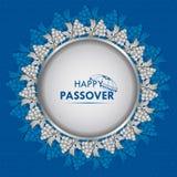Judisk ferie av påskhögtiden Pesach Seder vektor illustrationer