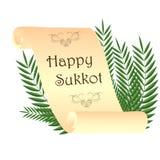 Judisk ferieSukkot vektor Stock Illustrationer