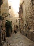 Judisk fjärdedel i Jerusalem den gamla staden israel Royaltyfri Bild