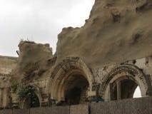 Judisk fjärdedel i Jerusalem den gamla staden israel Arkivfoton