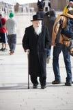 judisk gammal ortodox Arkivbilder