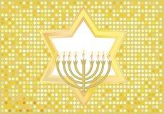 judisk glad ferie för bakgrund till Royaltyfri Bild