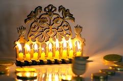 judisk hanukkah ferie royaltyfria foton