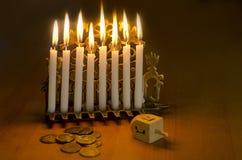 judisk hanukkah ferie royaltyfri fotografi