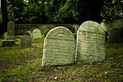Judisk kyrkogård Arkivbild