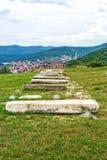 Judisk kyrkogård i Pristina Royaltyfri Fotografi