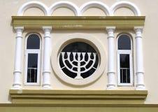 judisk menora royaltyfri foto