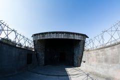 Judisk minnesmärke från den Dachau koncentrationsläger arkivbild