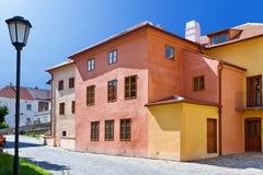 Judisk stad (UNESCO), Trebic, Vysocina, Tjeckien, Europa Royaltyfria Bilder