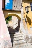 Judisk stad (UNESCO), Trebic, Vysocina, Tjeckien, Europa Fotografering för Bildbyråer