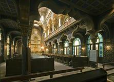 judisk synagoga Arkivfoton