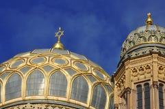 judisk synagoga för berlin iv Arkivfoto