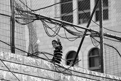 Judisk unge i Palestina Royaltyfria Foton