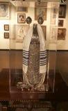 Judiska Art Exhibit på det Belz museet Arkivfoto