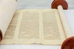 Judiska Torah på bar mitzwah 5 SEPTEMBER 2016 USA Arkivbilder