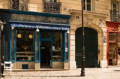 Judiskt bageri i Paris royaltyfri bild