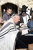 Judiskt be för manar Arkivfoto