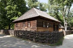 Judiskt hushåll i Maramures Rumänien arkivfoto