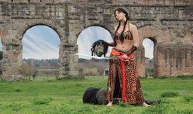 Judith Beheading Holofernes Royaltyfria Bilder