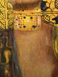 Judith I by Gustav Klimt. Gustav Klimt was an Austrian symbolist painter and one of the most prominent members of the Vienna Secession movement. Klimt is noted Stock Photo