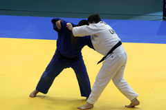 Judo. Two man fighters on european judo championship in novi sad Royalty Free Stock Photo