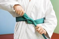 Judo Foto de archivo