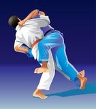 judo photographie stock libre de droits