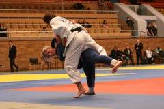 Judo championship Stock Image