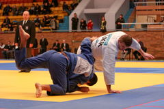 Judo championship Stock Photos