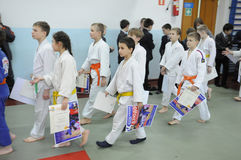 Judo competitions Stock Image
