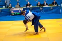 Judo del torneo de la taza de Europa de los hombres Fotografía de archivo