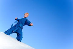 Judo fighter Stock Photo