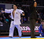 Judo Grandprix 2012 Düsseldorf Germany Royalty Free Stock Photos