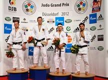 Judo Grandprix 2012 DÃ ¼ sseldorf Deutschland Stockfotos