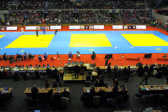 Judo Grandprix 2012 Düsseldorf Germany Royalty Free Stock Photography