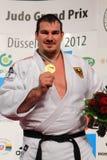 Judo Grandprix Düsseldorf 2012 Alemanha Fotografia de Stock