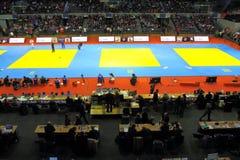 Judo Grandprix Düsseldorf 2012 Alemanha Fotografia de Stock Royalty Free
