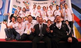 Judo Grandprix Düsseldorf 2012 Alemania Imagen de archivo libre de regalías